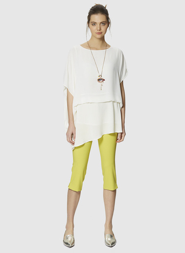 Roman Pantolon Sarı